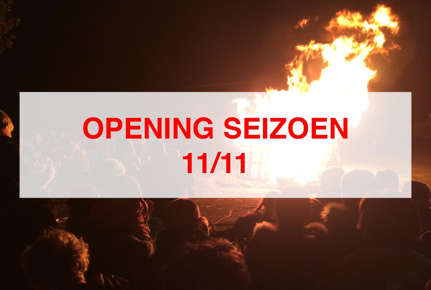 11/11 Opening Carnavalsseizoen elfde v/d elfde
