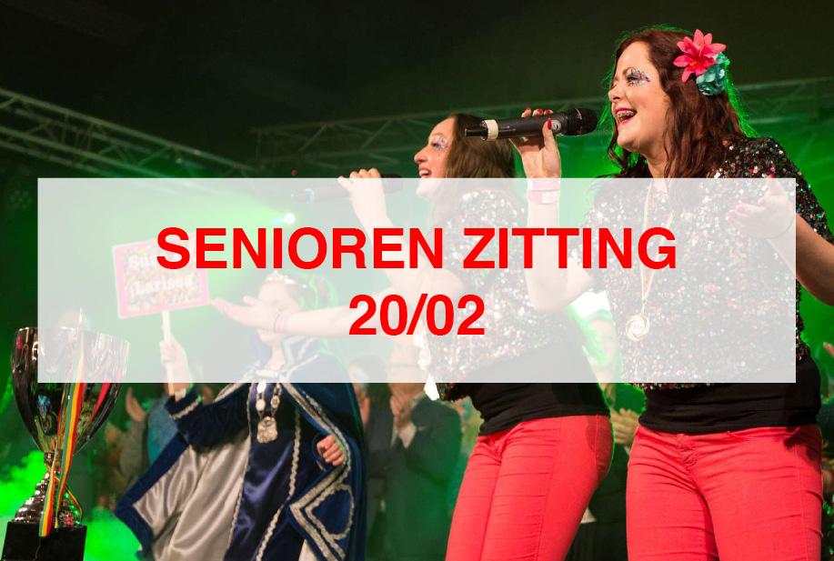 20/02 Seniorenzitting